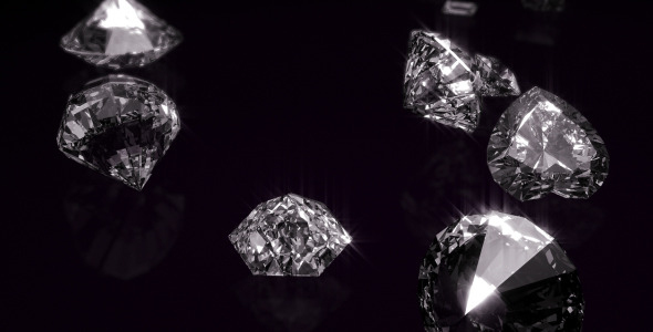 Diamonds Opener VideoHive  Video Displays  3D, Object 3544841