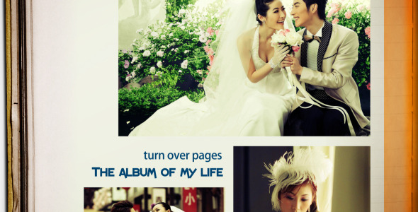 VideoHive The Album Of My Life 3523790