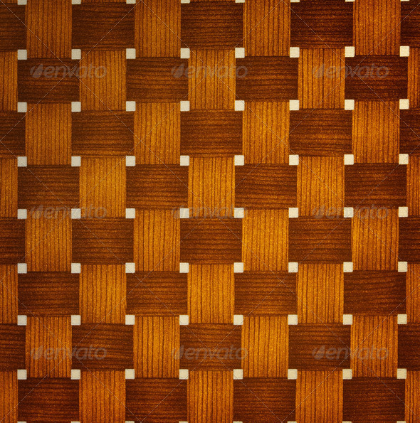brown rattan wood texture - Stock Photo - Images