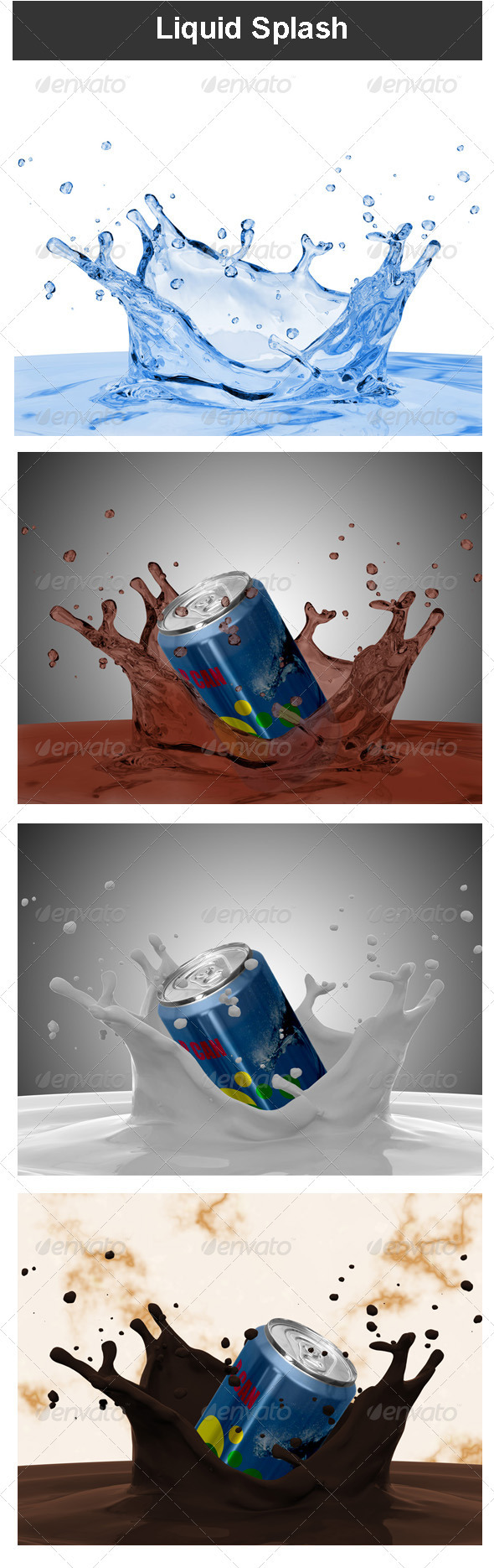 GraphicRiver Liquid Splash 3545300