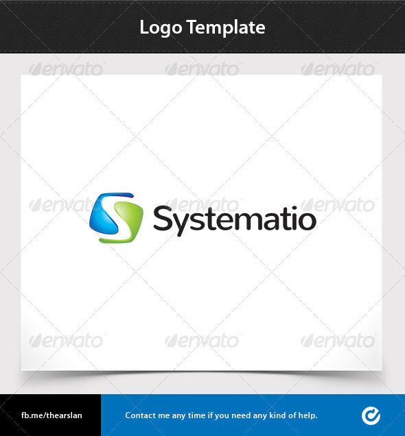 GraphicRiver Systematio Logo Template 3545807