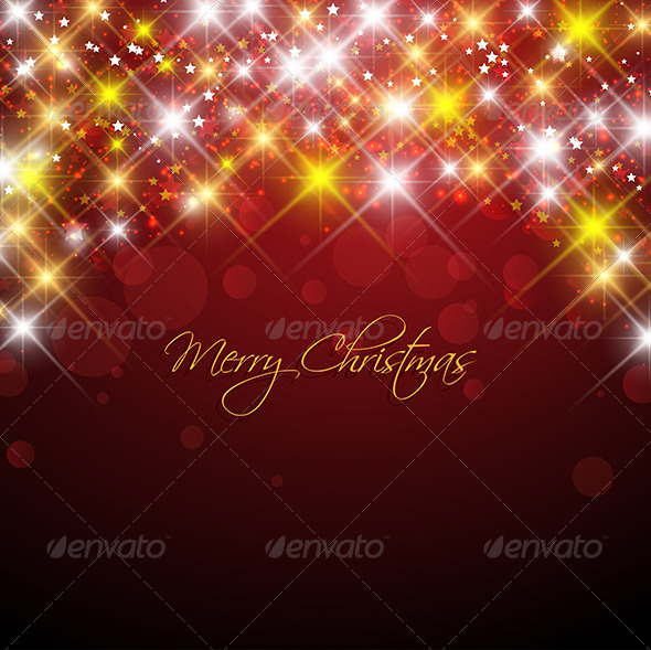 GraphicRiver Christmas Stars 3545907
