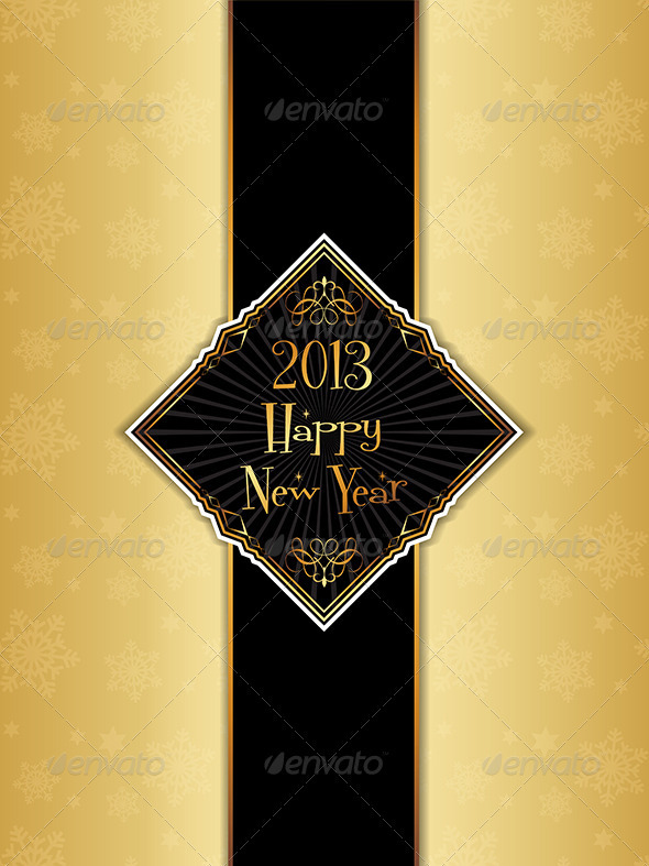 GraphicRiver Happy New Year Background 3546000