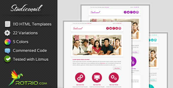 StudioMail - Email Template - Email Templates Marketing