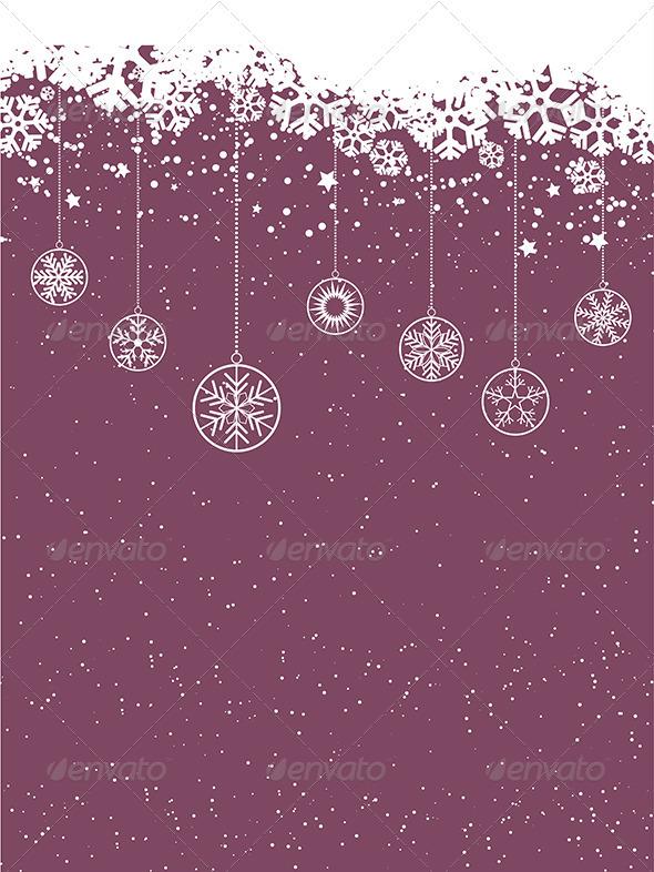 GraphicRiver Christmas Background 3546952