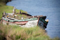 Abandoned wooden boat - PhotoDune Item for Sale