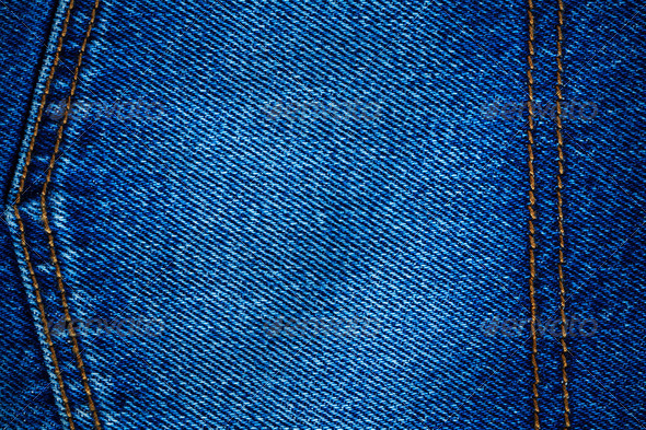 Blue jean texture background - Stock Photo - Images