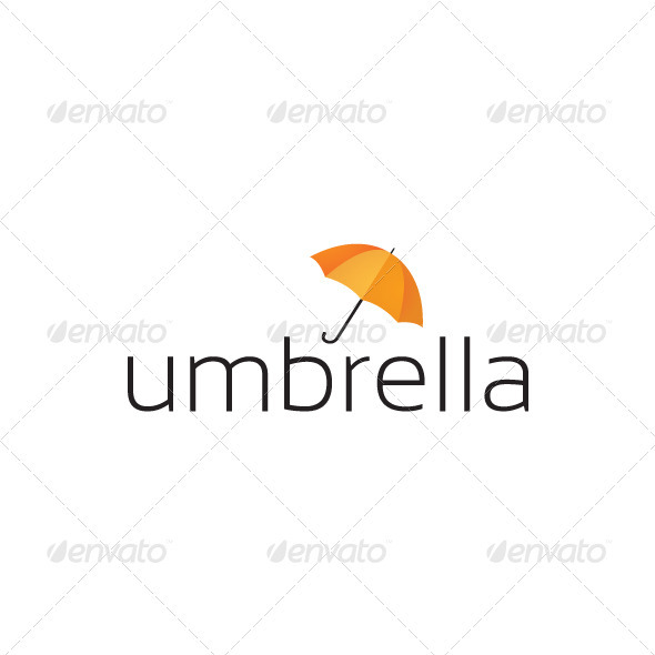GraphicRiver Umbrella Logo 3548932