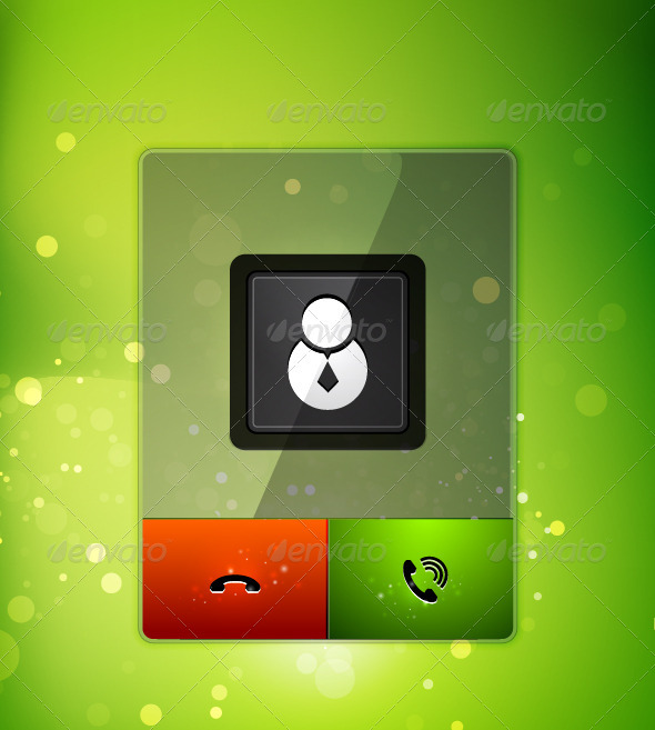 GraphicRiver Incoming Call User Interface 3550758