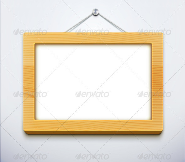 GraphicRiver Wooden Frame 3551140