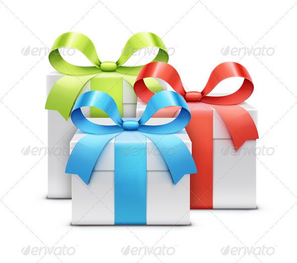GraphicRiver Present Boxes 3551194