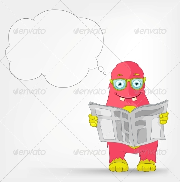GraphicRiver Funny Monster News 3552433