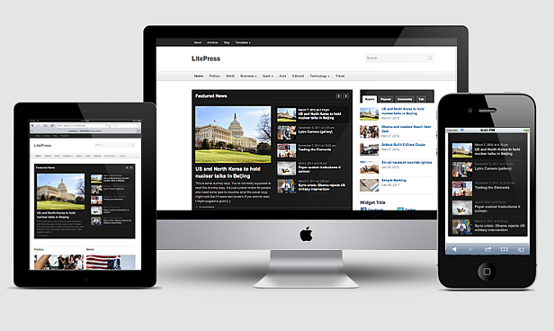 LitePress - Responsive Magazine WordPress Theme