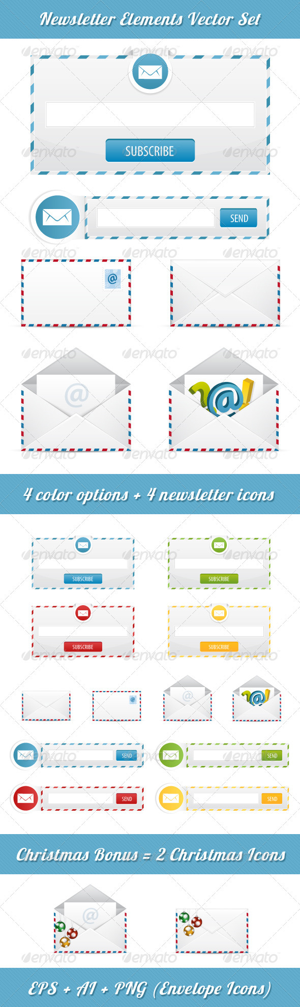 GraphicRiver Newsletter Subscription 3554217