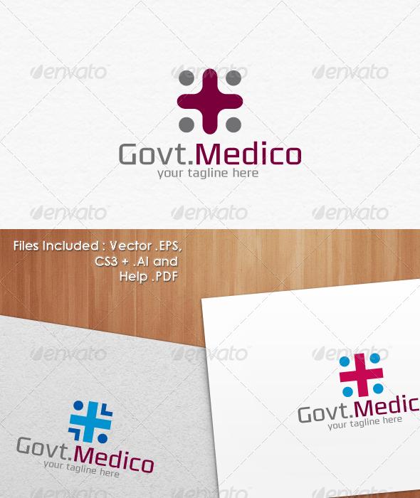 GraphicRiver Govt.Medico Logo Templates 3544622