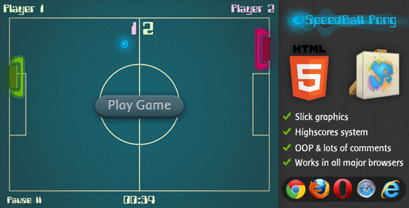 CodeCanyon SpeedBall Pong 3554604
