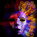 Painted mask background - PhotoDune Item for Sale
