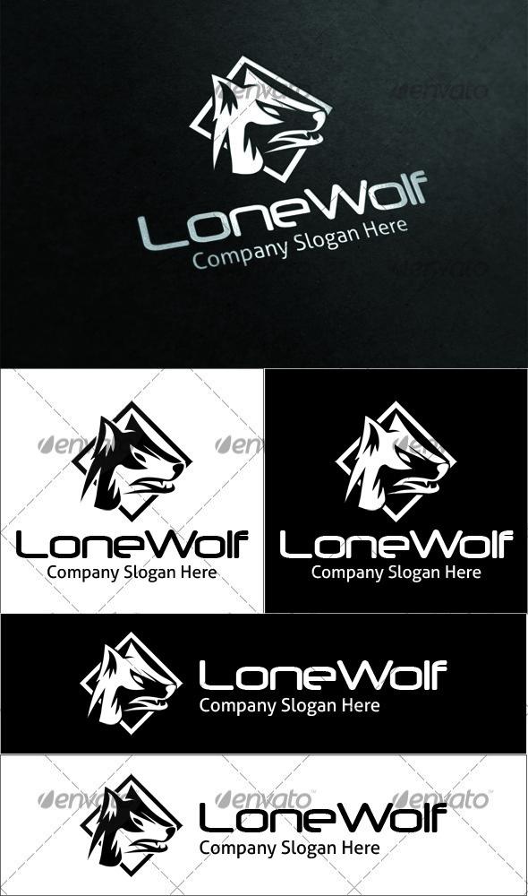 GraphicRiver Lone Wolf Logo 3555335