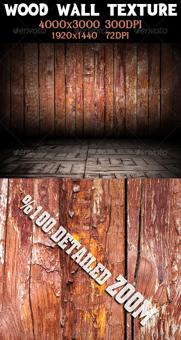 GraphicRiver Wood Wall Texture 3555753