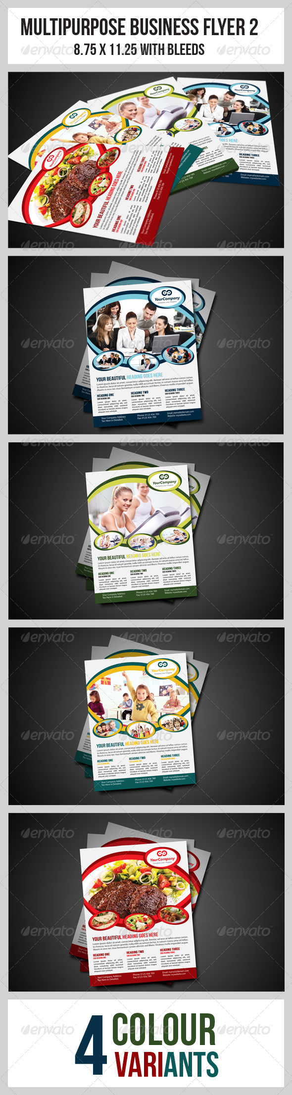 GraphicRiver Multipurpose Business Flyer 2 3557035