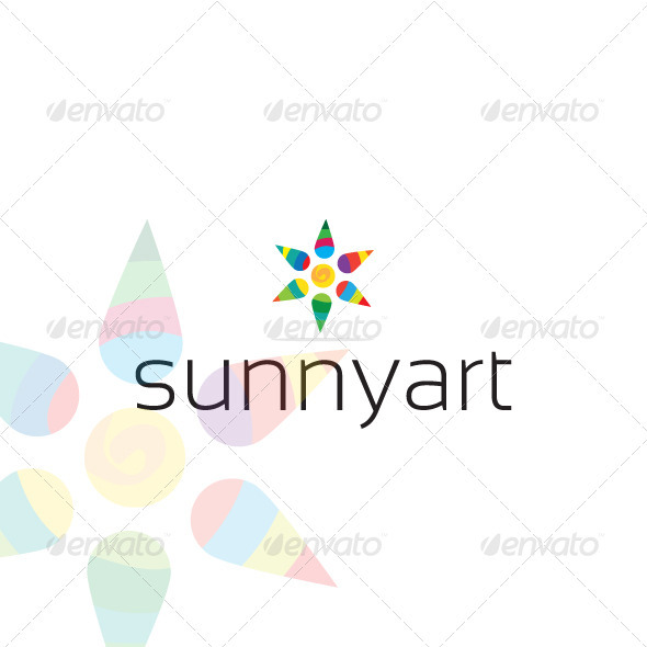 Sunnyart Logo - Abstract Logo Templates