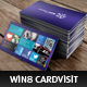Wins 8 - Personal - Business Card Visit - GraphicRiver Item for Sale