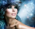 Fashion. Beautiful Girl in Fur Hat. Winter Woman - PhotoDune Item for Sale