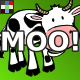 Cartoon Cow Moo Emotions