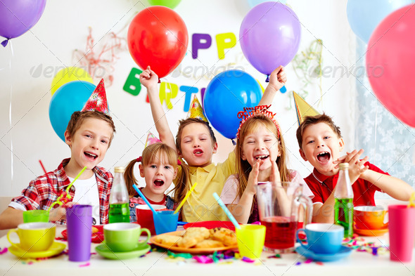 Birthday party - Stock Photo - Images
