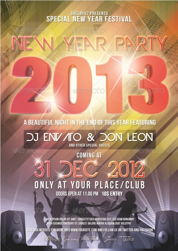 New Year Party Flyer / Poster