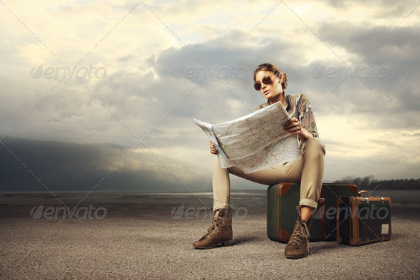 Travel destination - Stock Photo - Images