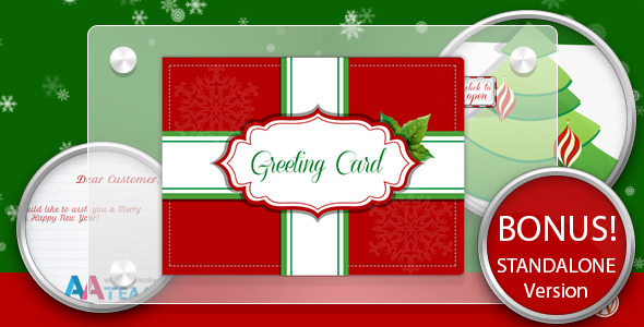 Business Christmas Greeting Card - WP Plugin - CodeCanyon Item for Sale