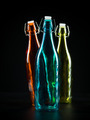 three colorfull bottles - PhotoDune Item for Sale