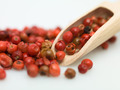detail of red pepper and wood object - PhotoDune Item for Sale