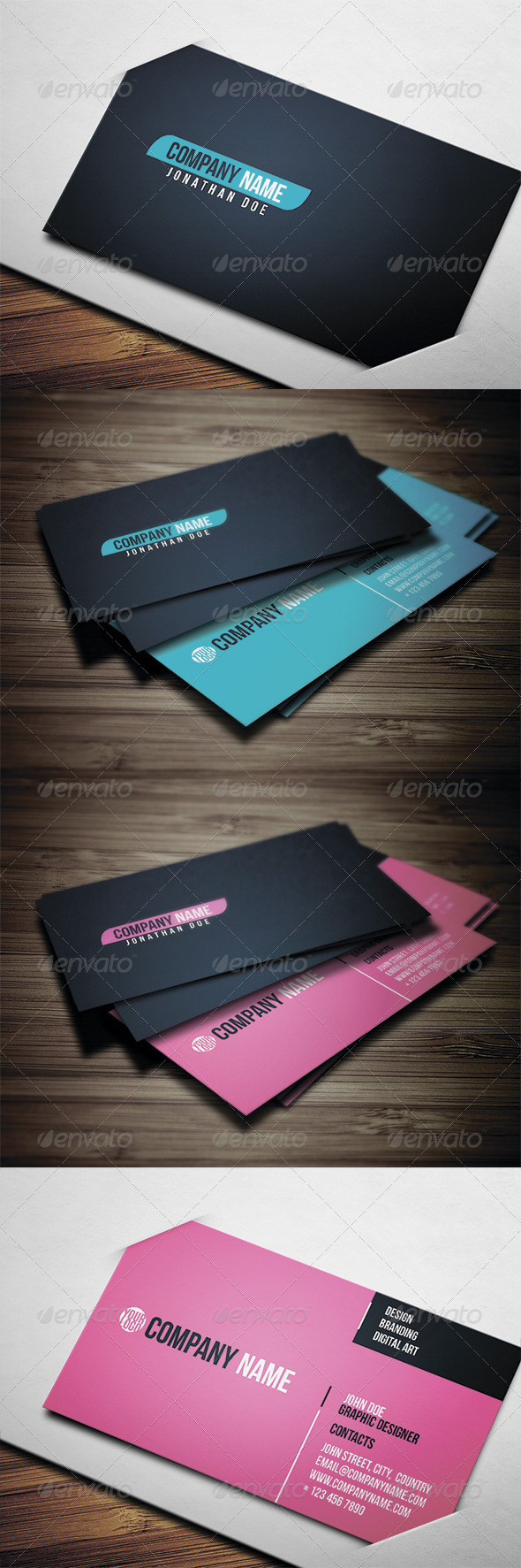 GraphicRiver Corporate Business Card 3564339