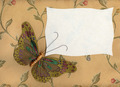 Butterfly in Fabric on Textiles 1 - PhotoDune Item for Sale