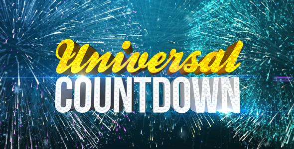 VideoHive Universal Countdown 3566486
