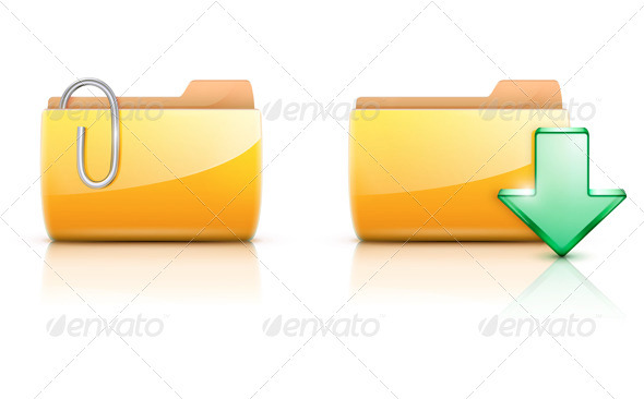 GraphicRiver Computer Folder Icons 3568190