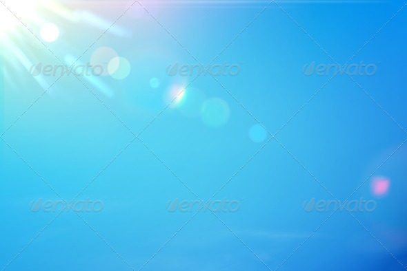 GraphicRiver Blue Sky 3568195
