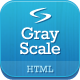 GrayScale - Responsive HTML5/CSS3 template - ThemeForest Item for Sale
