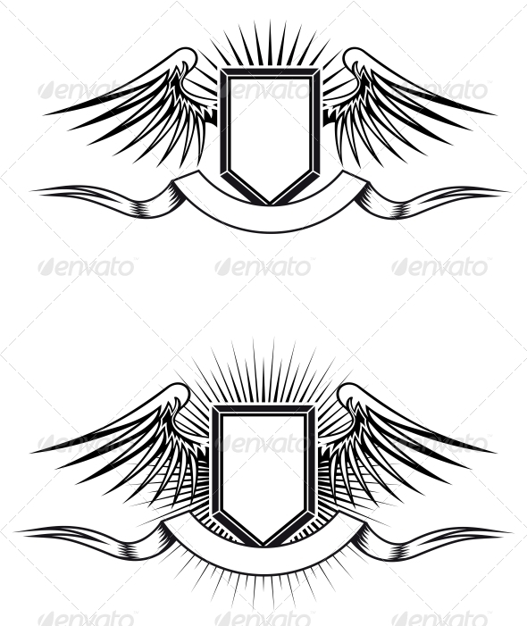 GraphicRiver Heraldic Emblems 3569109