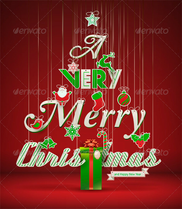GraphicRiver A Very Merry Christmas 3569182