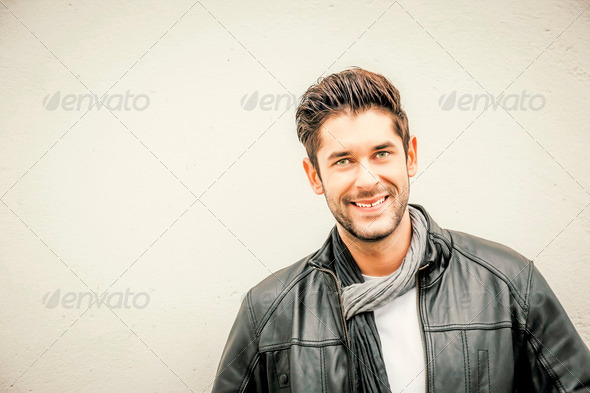 cool young man - Stock Photo - Images