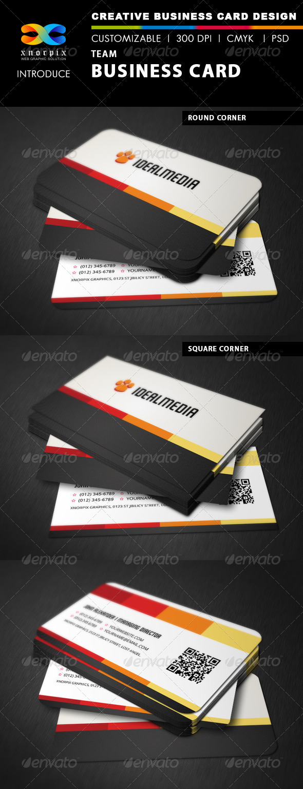 GraphicRiver Modern Business Card 3571195