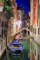 Venice water and buildings at night - PhotoDune Item for Sale