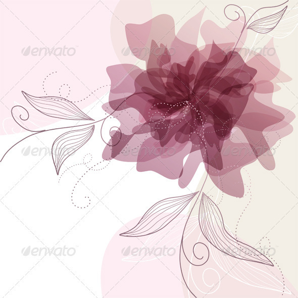 GraphicRiver Floral Background 3571600