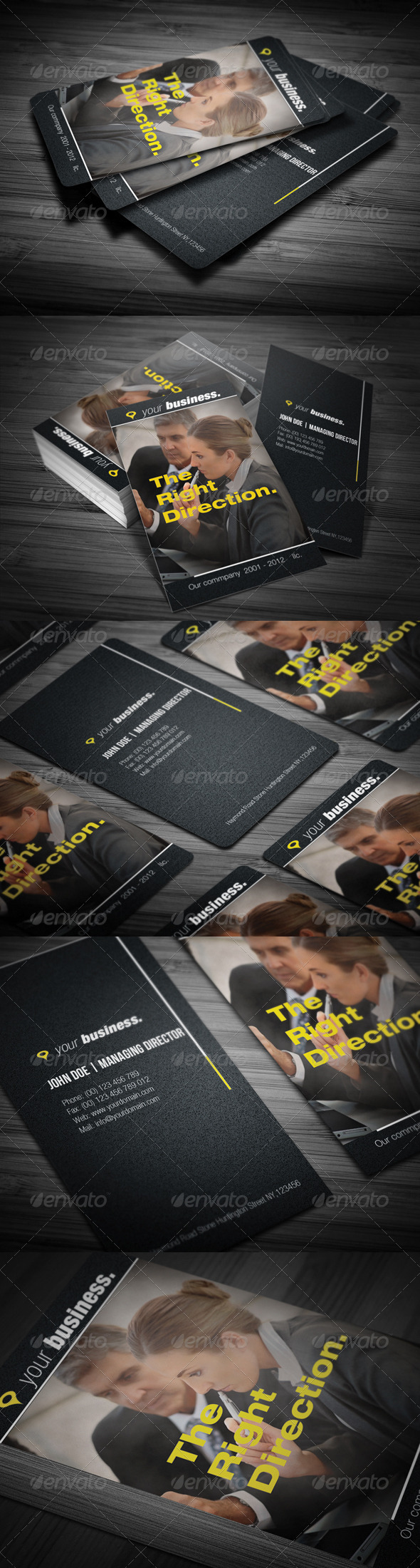 GraphicRiver Professional Business Card 3572719