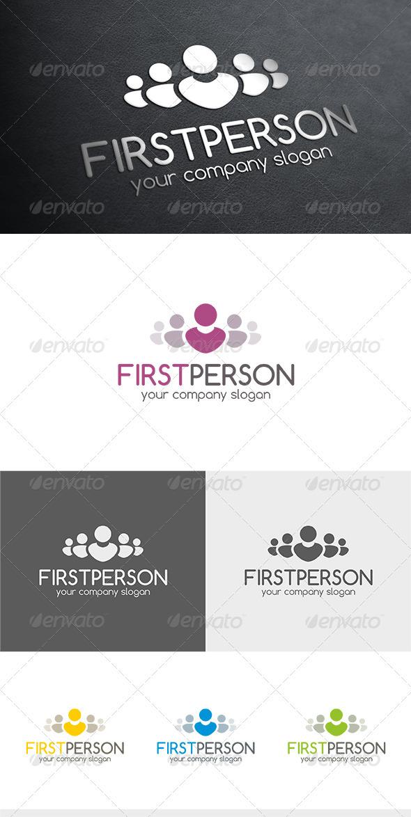 GraphicRiver First Person Logo 3572896