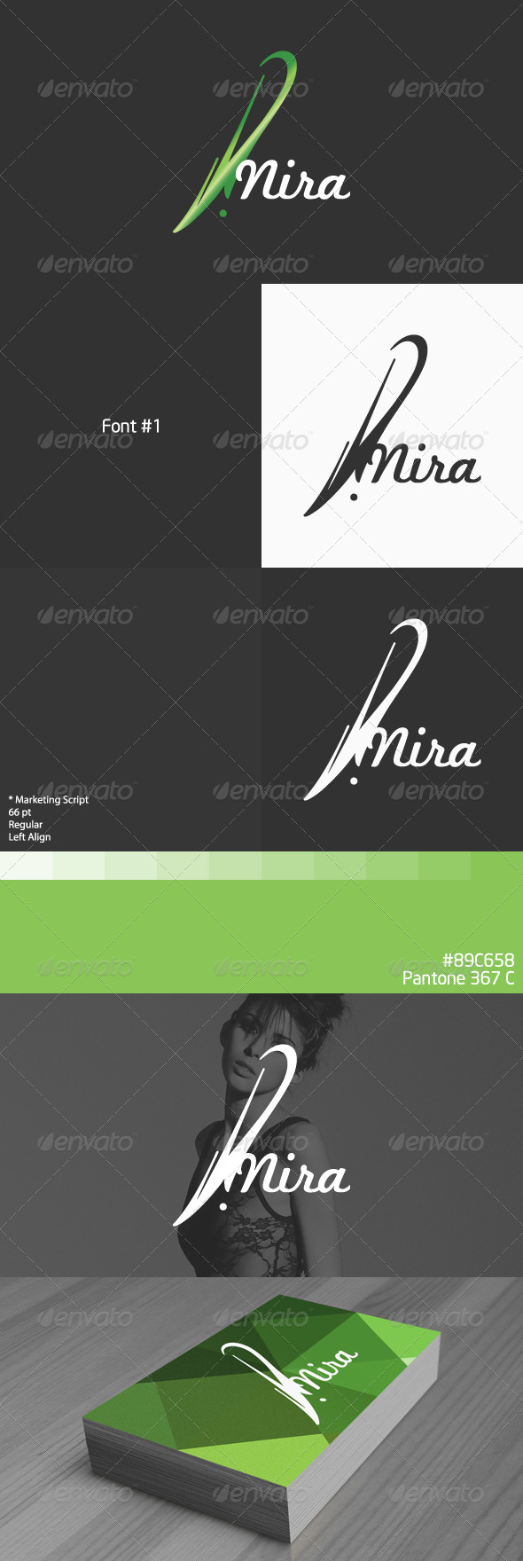 Nira Logo - Vector Abstract