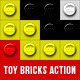 Toy Bricks Photoshop Actions - GraphicRiver Item for Sale